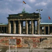Brandenburg Gate behind the Wall
