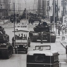 Checkpoint Charlie before 1961